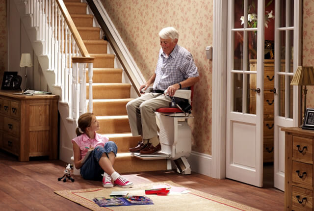 By Including A Stair Lift To The Home, You Can Significantly Reduce This  Worry, And Make Life Much Easier For Everyone Around, Understanding That  The Stairs ...