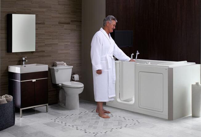 best edmond walk−in bathtub installer | cain's mobility ok